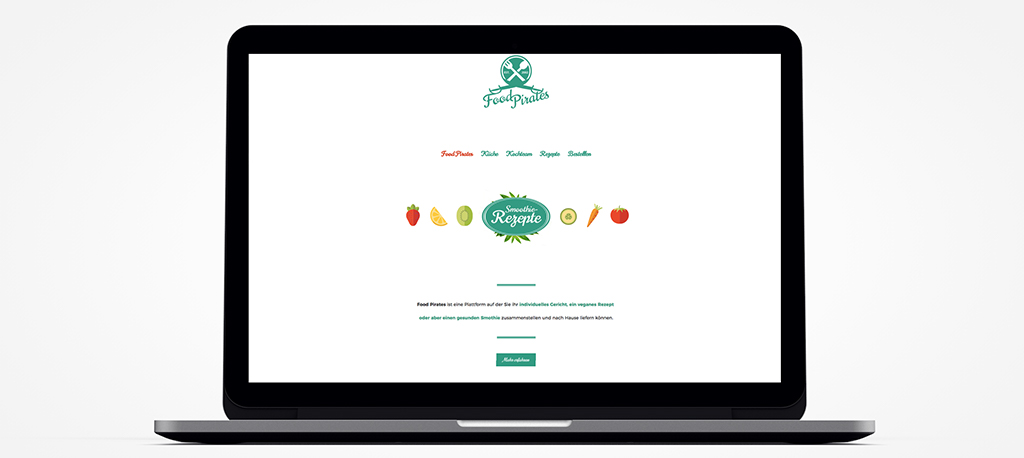 Homepage Gastronomie - Food-Plattform
