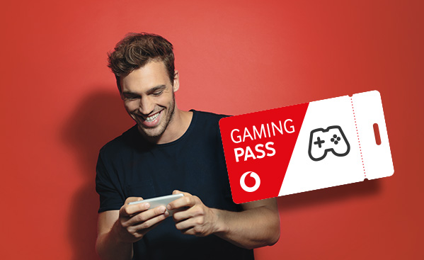 Der Vodafone Gaming-Pass