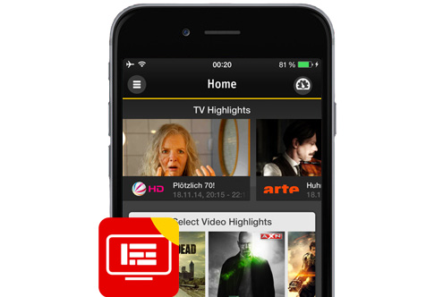 TV Manager App