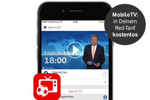 vodafone mobiletv mobiles tv mit der handy tv app. Black Bedroom Furniture Sets. Home Design Ideas