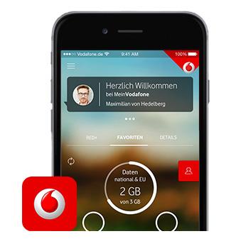 vodafone rechnung app