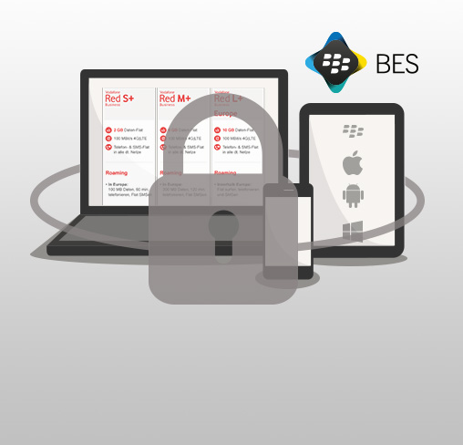 Security-Vorteil Red Business+