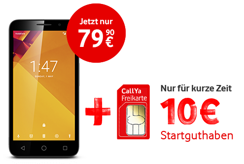 prepaid handys und smartphones mit callya von vodafone. Black Bedroom Furniture Sets. Home Design Ideas