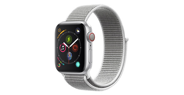 Apple Watch Series 4 - Silber