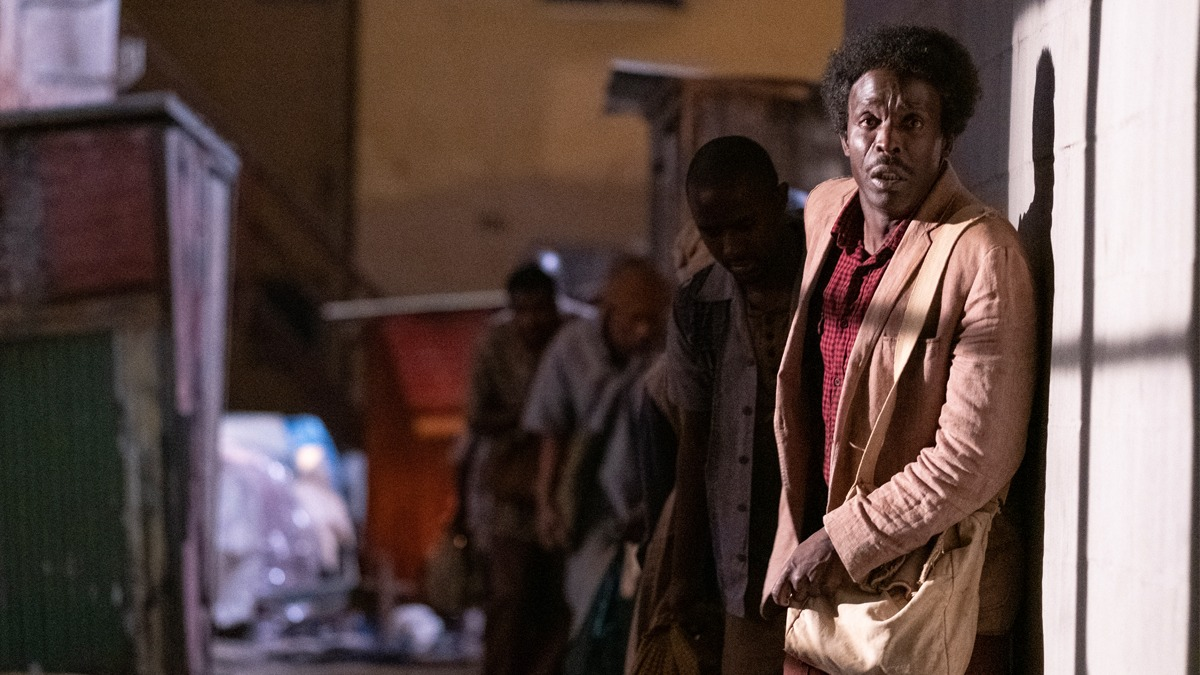 Michael Kenneth Williams in The Red Sea Diving Resort