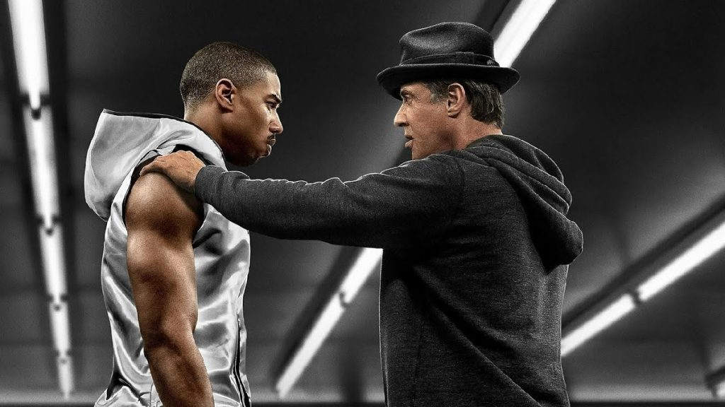 Michael B. Jordan und Sylvester Stallone in Creed