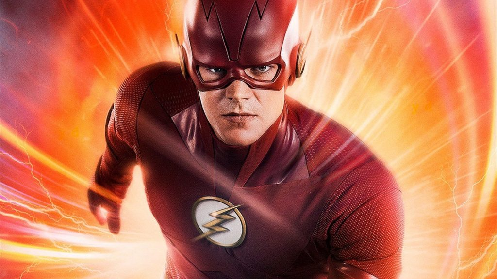 Grant Gustin in The Flash