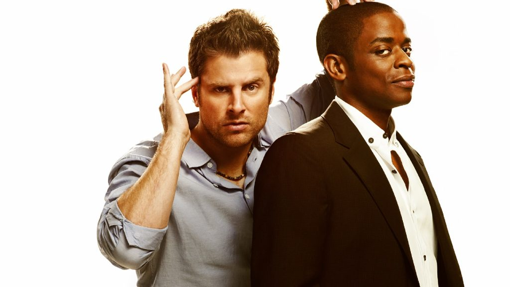 James Roday und Dulé Hill in Psych