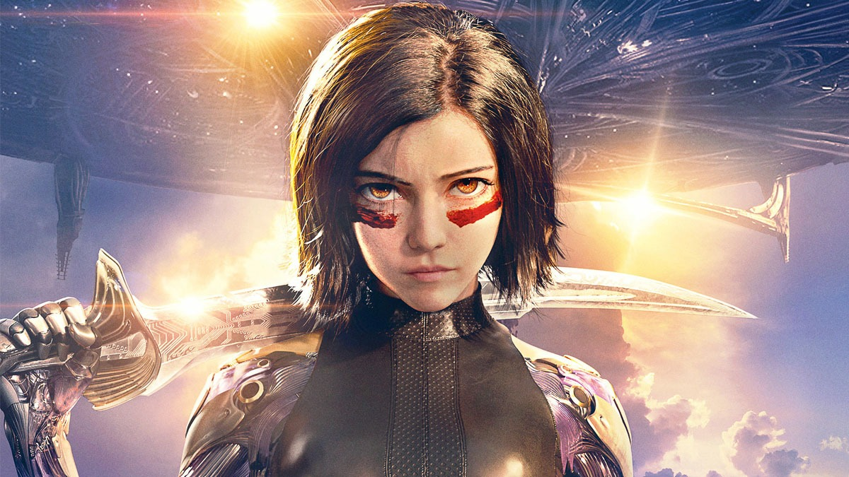 Rosa Salazar in Alita Battle Angel