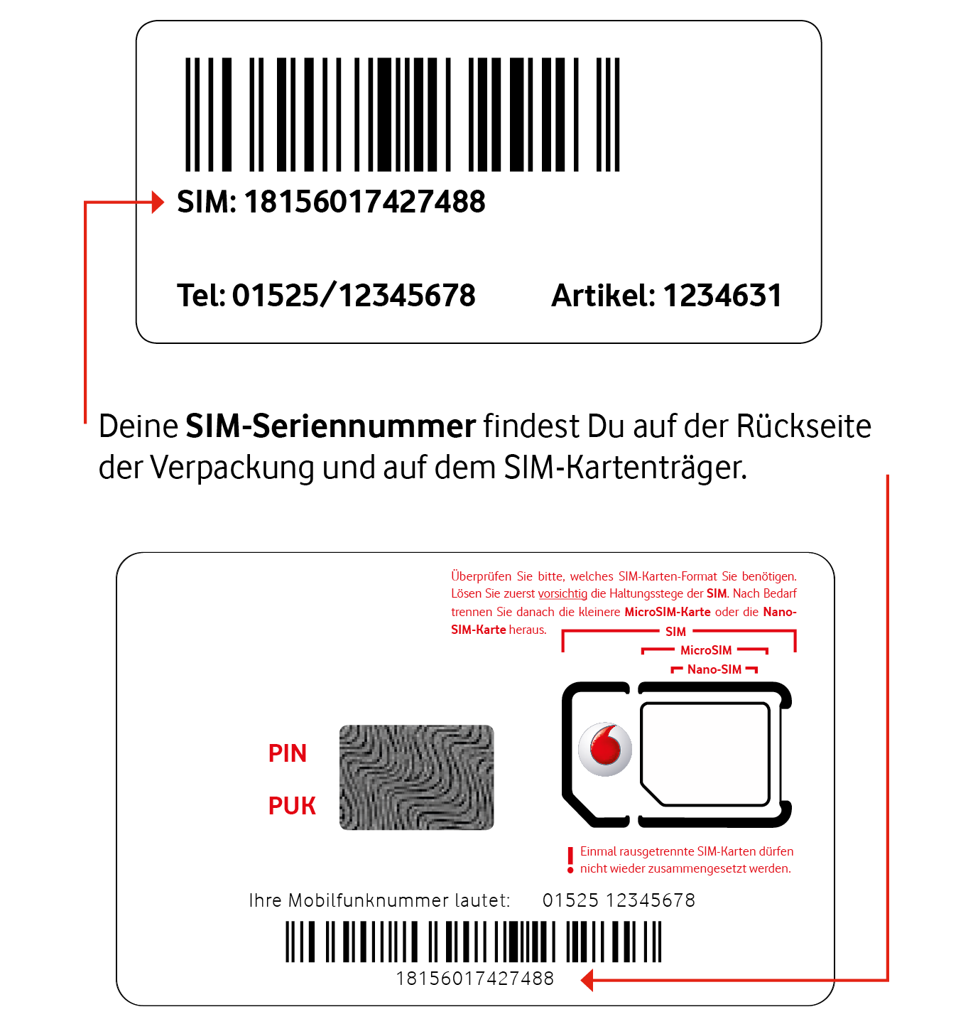Neue Sim Karte Aktivieren.Callya Sim Karte Aktivieren Und Registrieren Vodafone