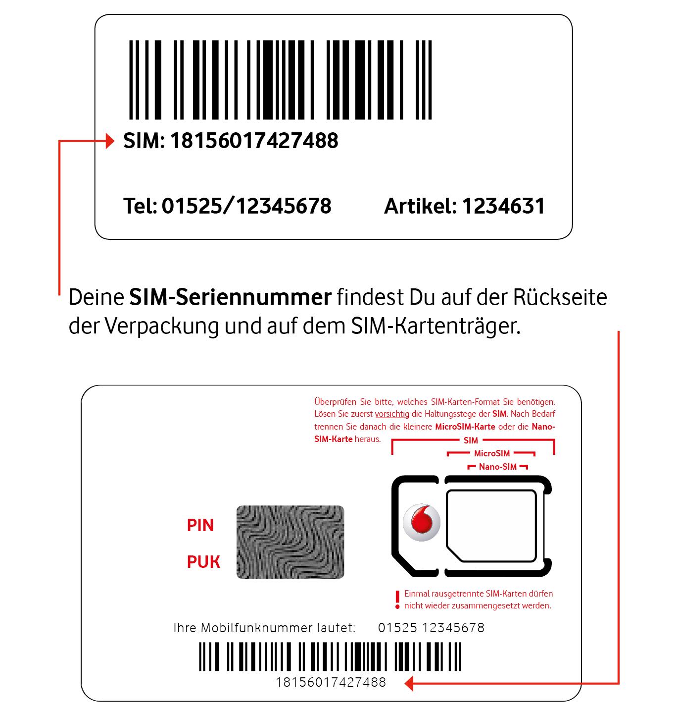 Vodafone Sim Karte Aktivieren.Callya Sim Karte Aktivieren Und Registrieren Vodafone