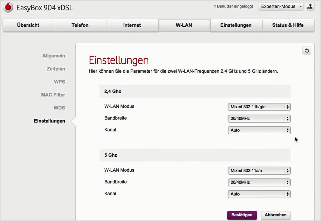 Hilfe  EasyBox 10 xDSL - EasyBoxen