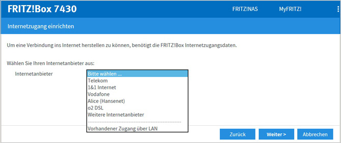 Hilfe Fritzbox 7430 Andere Router