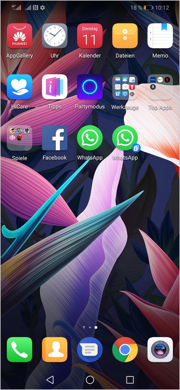 Hilfe | WhatsApp - Nachrichten - Mate20 lite