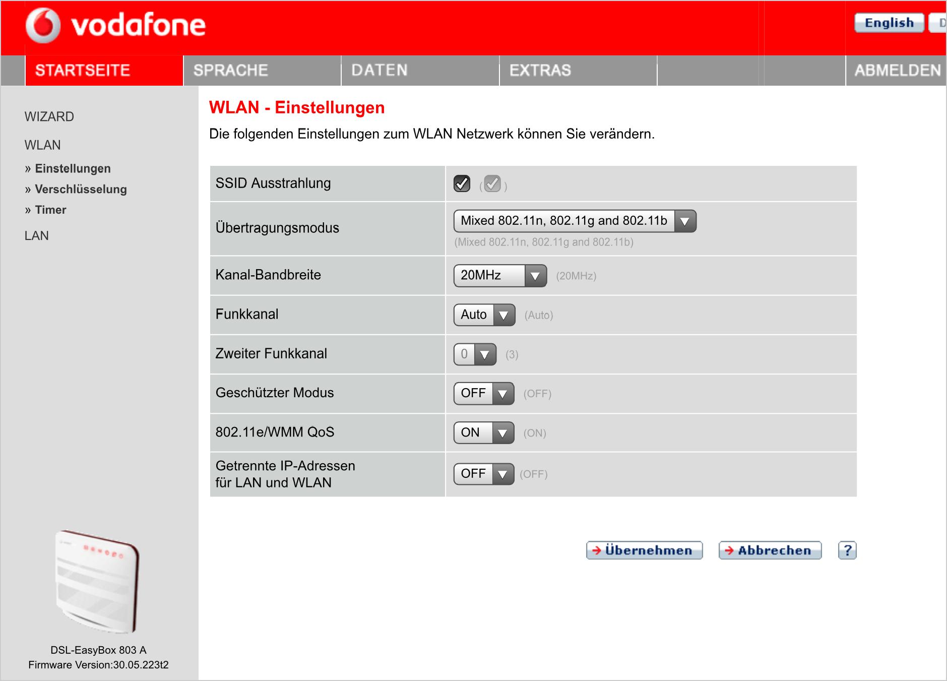 vodafone easybox 804 dsl vdsl wlan router phpbb. Black Bedroom Furniture Sets. Home Design Ideas