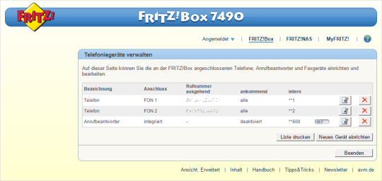 Hilfe | FRITZ!Box 7490 - Andere Router