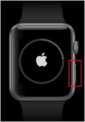 Apple Watch Series 4 einschalten