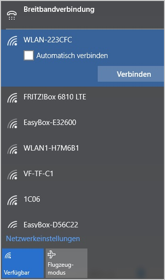 Hilfe Wlan Verbindungen Easybox 804 Windows 10