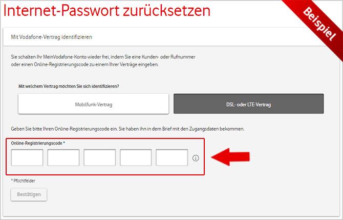 Hilfe Registrieren Einloggen Meinvodafone