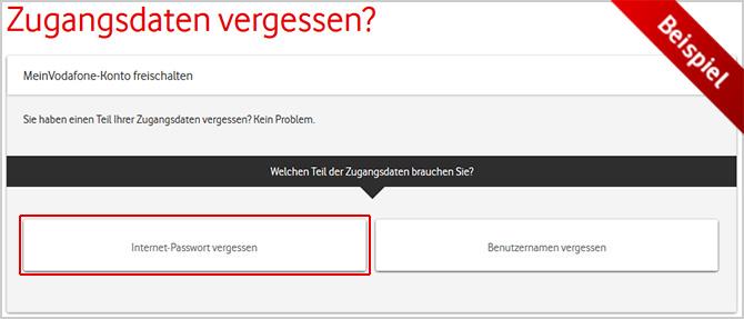 Vodafone Kundennummer Vergessen