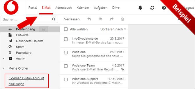 Hilfe Vodafone E Mail Einrichten Vodafone E Mail
