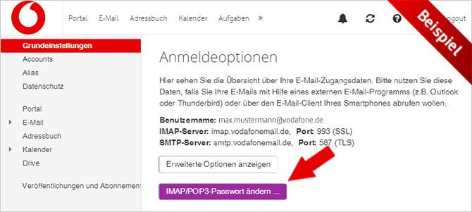 E Mail Adresse Vodafone
