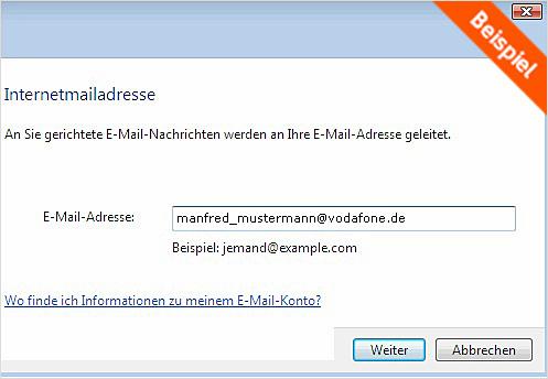 Mail Adresse Vodafone
