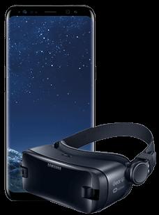 Samsung Galaxy S8 Black Gear VR