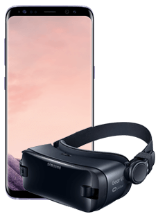 Samsung Galaxy S8 Grey Gear VR