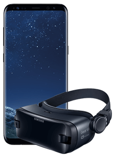 Samsung Galaxy S8 Black Gear VR