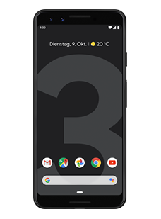 Google Pixel 3 Just Black (64 GB)