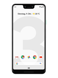 Google Pixel 3 XL Clearly White (64 GB)