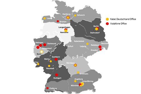 vodafone standorte adressen der standorte in deutschland. Black Bedroom Furniture Sets. Home Design Ideas