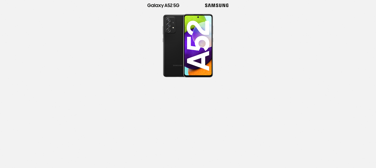 A wie Allround-Talent: Samsung Galaxy A52 5G