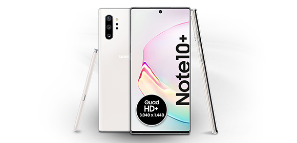 Samsung Galaxy Note10+ – Design und Display