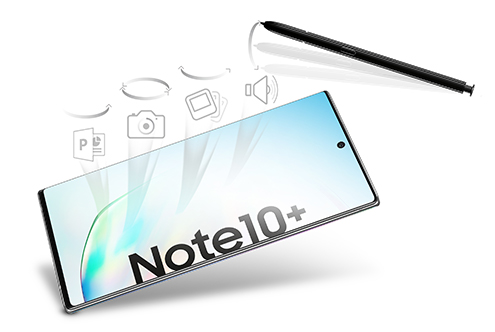 Samsung Galaxy Note10+ – Gestensteuerung per S Pen