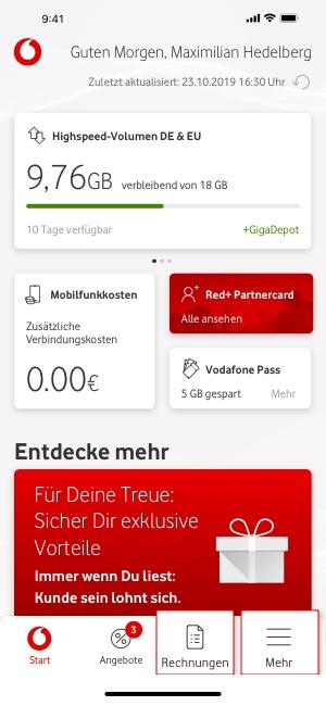 Mobilfunkrechnung Online