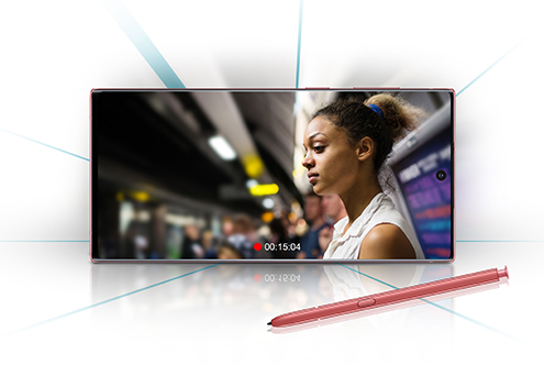 Samsung Galaxy Note10+ – Filmen wie ein Profi mit Live-Fokus-Video