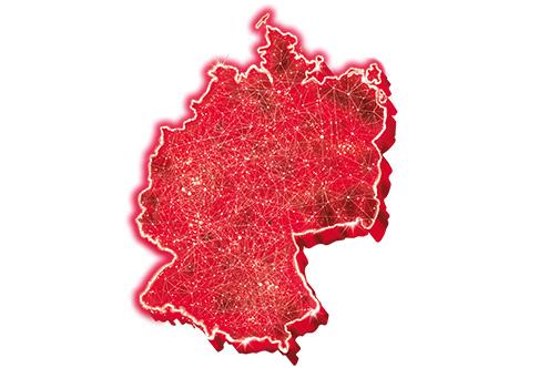 Lte Netzabdeckung Karte.Surfen Mit Lte Max Netzkarte Netzausbau Von Vodafone