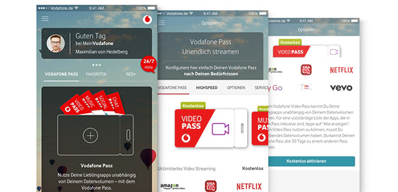 YOUNG LEGITIMATION VODAFONE