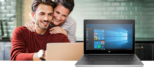Laptop mit Windows 10