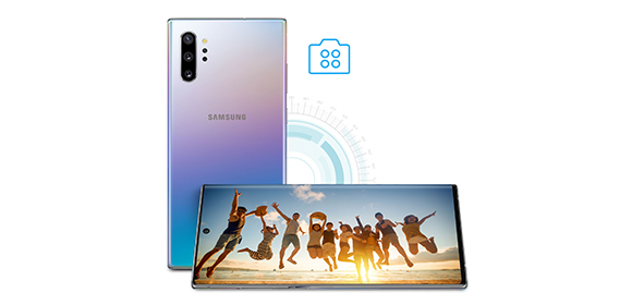 Samsung Galaxy Note10+ – innovative Quad-Kamera
