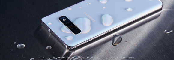 Samsung Galaxy S10 - Materialien