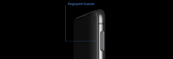 Samsung Galaxy S10e - Fingerabdruck-Scanner